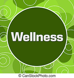 Wellness Random Green Rings Circle