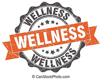 wellness stamp. sign. seal