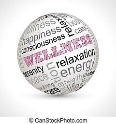 wellness, téma, gömb, noha, keywords