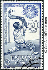 welt, -, 1964:, spanien, york, neu , messe, baske, shows, ...