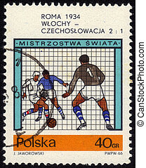 welt, fußball, rom, 1934, becher