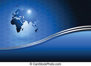 welt globus, hintergrund
