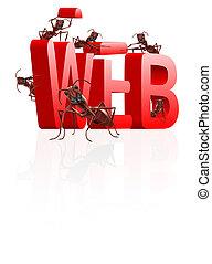 wen website under construction - web website internet site...