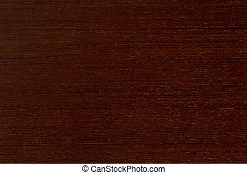Wenge texture of wood background closeup.