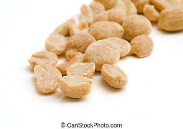 wenige, erdnüsse