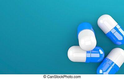 wenige, pillen