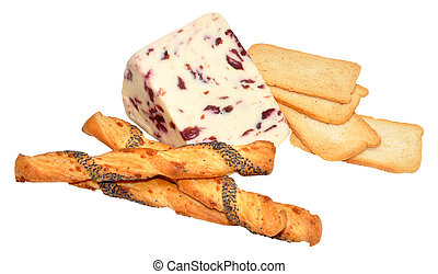 Wensleydale And Cranberry Cheese - Wensleydale and cranberry...