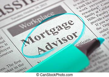 We're Hiring Mortgage Advisor.