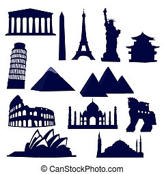 wereld, bekende & bijzondere plaatsen