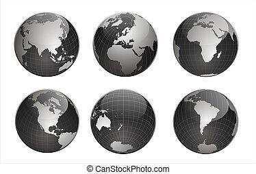 wereld, black
