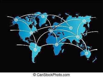 wereld, communation