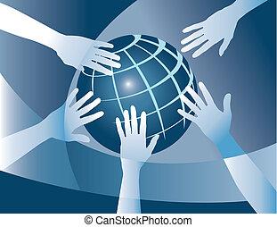 wereld, eenheid
