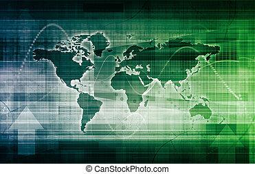 wereld handel