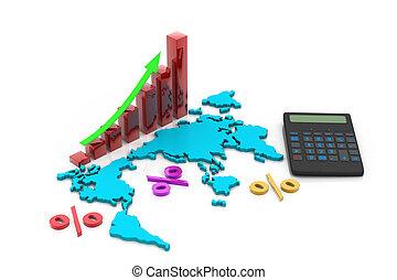 wereld handel, tabel