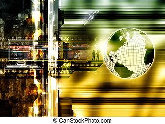 wereld, internet