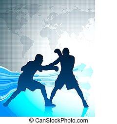 wereld, kampioenschap, boxing, achtergrond