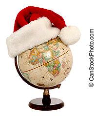 wereld, kerstmis