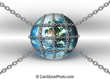 wereld, kettingen