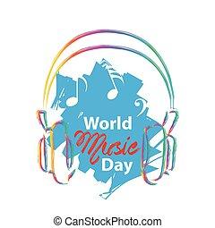 wereld muziek, dag