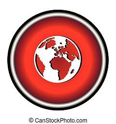 wereld, pictogram