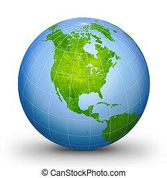 wereldbol, 2, geografisch