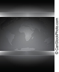 wereldkaart, achtergrond