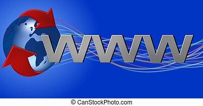 wereldwijd web, www