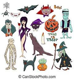 werewolf, vleermuis, kat, black , bazin, donker, spider., ...