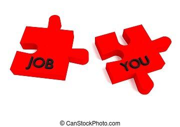 werk, u, rood, raadsel