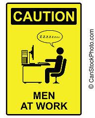 werken, mannen