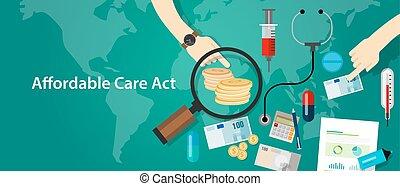 werken, programma, verzekering, affordable, gezondheidszorg...