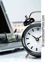 werken, tijd