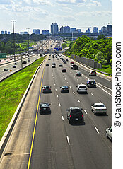 werkende, snelweg