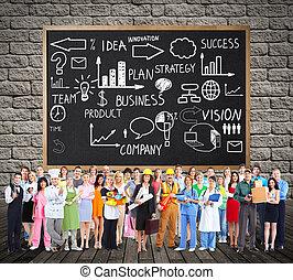 werkmannen , group., mensen