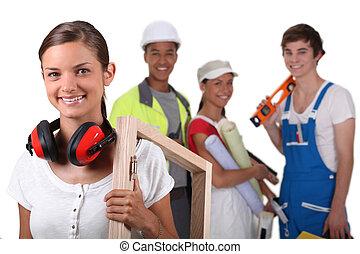 werkmannen , handleiding