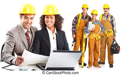 werkmannen , industriebedrijven