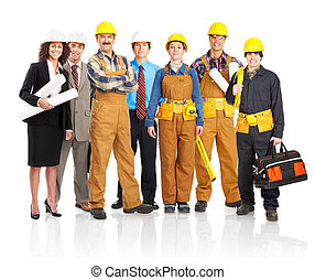 werkmannen , mensen