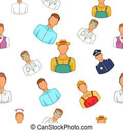 werkmannen , spotprent, stijl, model