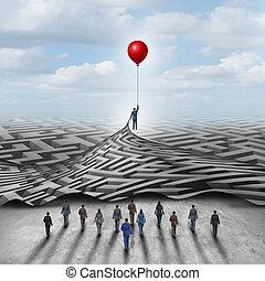 werknemer, bewindvoering, oplossing