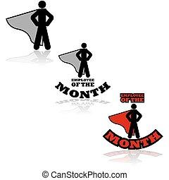 werknemer, maand