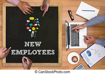 werknemers, nieuw