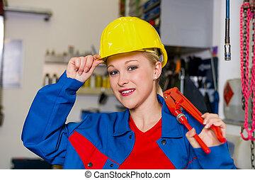 werkstatt, mechaniker