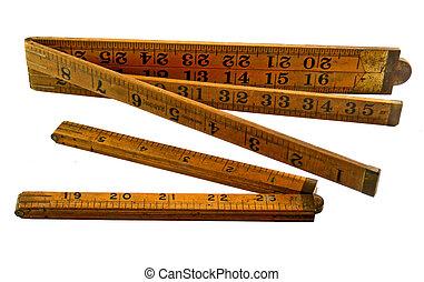 werktuig, het meten, uitzetbaar