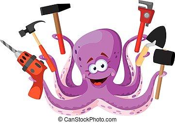 werkzeuge, oktopus