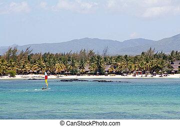 West Coast Mauritius - On the west coast of Mauritius,...