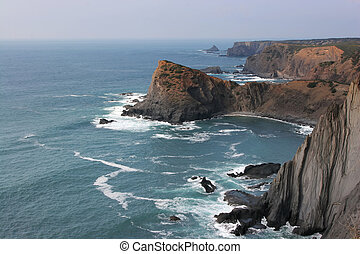 Costa Vicentina - West coast of Portugal and its cliffs (...