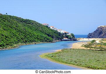 West coast of Portugal, Odeceixe beach