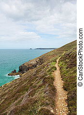 west coast, perranporth, sud, percorso