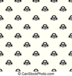 west hat pattern vector seamless repeat for any web design