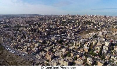 West Jerusalem flight - Beautiful video flying over west...